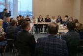 Единоросы встретились с инициативной группой жителей   района Коротчаево
